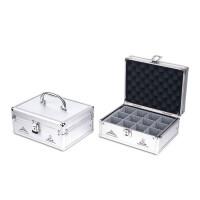 杰丽斯印章箱 印章盒 印章保管箱 印章收纳盒 可自由组合 12格/20格/30格可选