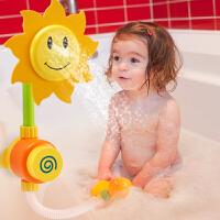 儿童潮宝宝浴室向日葵花洒 水龙头喷水花洒戏水洗澡沐浴玩具