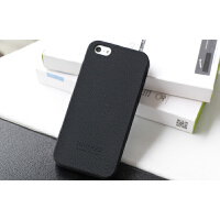 Seepoo 苹果5C手机壳 iPhone 5c保护套 全包边防摔皮纹防滑壳 硅胶套 柔软手感舒服男 苹果 iPhon