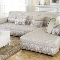 欧式沙发垫四季通用布艺防滑北欧简约坐垫子全包沙发套罩全盖