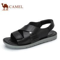 camel骆驼男鞋 夏季新品 凉鞋沙滩鞋子男士透气露趾凉鞋男