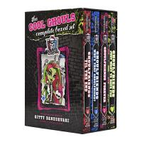 【首页抢券300-100】Monster High The Cool Ghouls Complete 怪兽中学4册 精灵