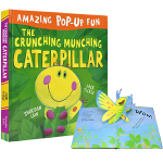 Amazing Pop-Up Fun The Crunching Munching Caterpillar 吃叶子的毛