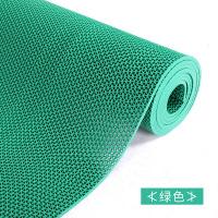 【人气】浴室防滑垫淋浴家用厕所厨房卫生间地垫PVC塑料镂空垫子防水【】