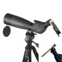 CAT波斯猫金虎20-60x80单筒变倍观鸟镜 20-60倍高清晰观景望远镜 观靶镜