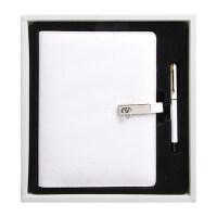 A5活页记事本套装 笔记本+笔礼盒公司商务会议文具礼品