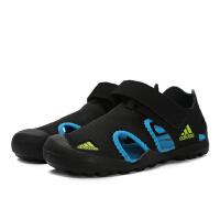 adidas阿迪达斯2019夏新款男小-大童透气运动户外鞋包头凉鞋F97312
