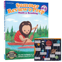 Kumon Summer Review & Prep Math & Reading G4-5 公文式教育 数学和英文英