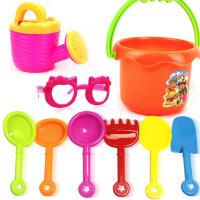 2631新品沙滩玩具9件套含炫酷太阳镜沙滩桶 沙滩戏水洗澡益智玩具