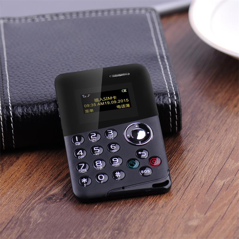 超薄迷你小卡片手机超小男女学生儿童按键备用袖珍直板款儿童智能小手机儿童mini小手机
