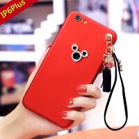 �O果6plus手�C��iPhone6s puls保�o套A1524硅�z�A1699潮女款ip6p 黑米奇+�t��