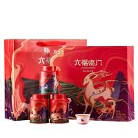 八马茶叶 安溪铁观音清香型大红袍岩茶金骏眉红茶特级名茶组合六福临门礼盒装
