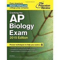 Cracking the AP Biology Exam, 2015 Edition 普林斯顿AP生物考试,2015年