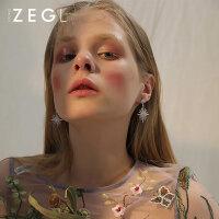 ZENGLIU韩国气质性感夜店耳环 长款耳坠女士耳钉2017新款时尚耳饰