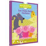 法语原版 三只小猪 书+CD Les trois petits cochons 法语启蒙 绘本