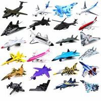 儿童玩具飞机合金战斗机合金飞机模型客机直升机模型声光回力飞机