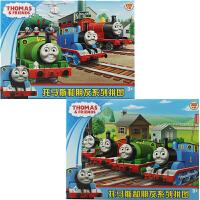 古部拼图 托马斯与朋友们二合一拼图益智玩具(200片2561+300片2562)