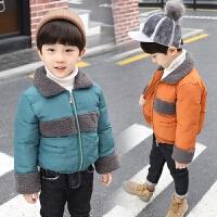 儿童外出外套男童宝宝秋冬装棉衣婴儿棉袄