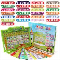 乐乐鱼有声画板25合一幼儿童语音识字卡片发声语音早教益智玩具