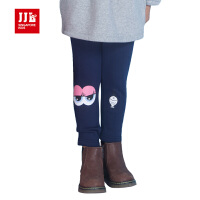JJL KIDS/季季乐2017冬季新款女小童加绒打底裤
