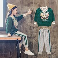 女童秋装运动套装女孩衣服洋气时髦两件套大儿童装潮