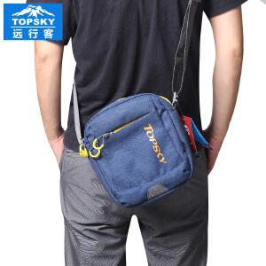 【99元三件】Topsky/远行客 新款2017户外单肩斜跨包旅行便携小包 单肩男女款旅游包