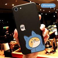 苹果iphone7plus手机壳8x软壳6s硅胶6浮雕xr情侣xs男女max卡通潮iphonex全包