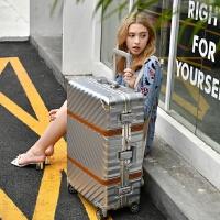复古时尚拉杆箱女万向轮寸密码登机行李箱寸大学生旅行箱包男