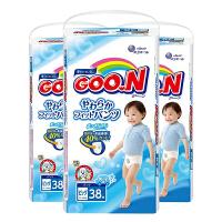 【三包】GOO.N大王 维E系列 婴儿拉拉裤 男宝宝 XL38片 12-20kg 海外购