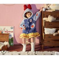 秋冬珊瑚绒女童睡衣儿童家居服儿童睡衣冬法兰绒白雪公主儿童睡衣
