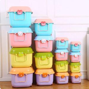 门扉 整理收纳 滑轮特大号加厚塑料收纳箱被子衣服内衣杂物储物箱玩具收纳盒大码 整理箱