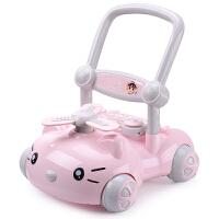宝宝学步车手推车婴儿学走路助步6-18个月学步车手推玩具车