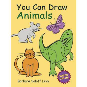 【预订】You Can Draw Animals 预订商品,需要1-3个月发货,非质量问题不接受退换货。