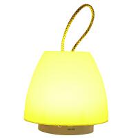银之优品 LED小夜灯 婴儿喂奶灯 卧室床头氛围灯 睡眠夜光灯 手提蘑菇