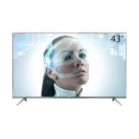 TCL 43A730U 43英寸30核人工智能纤薄金属机身HDR 4K液晶电视机(锖色)