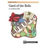 英文原版 钟声颂歌乐谱 Carol of the Bells: Sheet