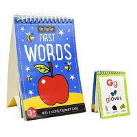 Flip Flap Fun First Words 儿童翻翻乐英语启蒙单词闪卡 英文原版图书进口