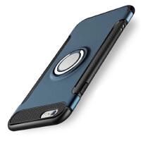苹果7手机壳 iphone7保护壳 苹果 iPhone7 苹果iphone8手机壳套 保护壳套 金属感硅胶套 防摔指环