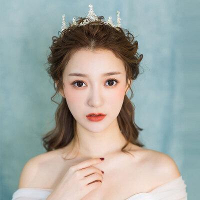 新娘大皇冠欧式女王结婚发饰婚纱礼服饰品