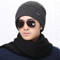 帽子男冬天加厚保暖毛线帽男韩版潮户外冬季针织帽男士加绒包头帽