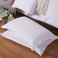 【人气】放心购 清新田园枕套 磨毛压花单人枕头套床上用品全套一对拍二 48cmX74cm