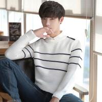 冬装毛衣男士韩版潮流个性针织衫修身宽松线衣线衫打底衫秋季男装