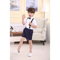六一儿童背带裤表演服大合唱校服舞台朗诵演出服男童女童幼儿园服
