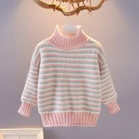 宝宝毛衣女婴儿打底衣秋冬儿童秋装小童冬装女童针织衫