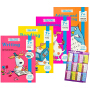 Essential Workbooks Pack Key Stage 2 核心技能练习册4册套组 儿童小学综合英语教辅 7岁适用 英文原版进口图书