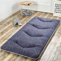 学生宿舍床垫单人90可折叠地铺垫1.2防滑加厚海绵透气床垫 简约格调 厚度8cm
