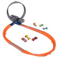 [当当自营]Hotwheels 风火轮 风火轮电动立体回旋赛道 儿童塑胶轨道玩具 X2586