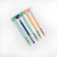 爱好热可擦中性笔 82080全针管小学生写字磨磨擦笔 0.5摩易擦水笔