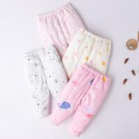 儿童棉裤 婴儿长裤 宝宝幼儿童装男女夹棉冬装
