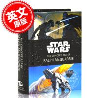 现货 星球大战:拉尔夫・麦克奎里 迷你概念艺术书 精装 英文原版 Star Wars: The Concept Art